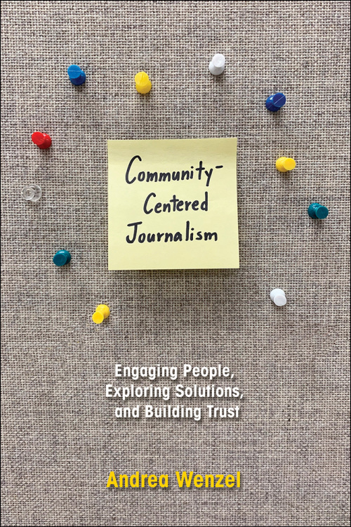 Book cover for Community-Centered Journalism.