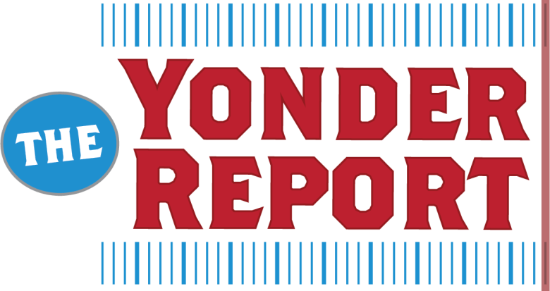 Text Logo for The Yonder Report
