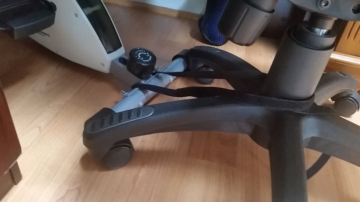 being stuck at the desk with the deskcycle