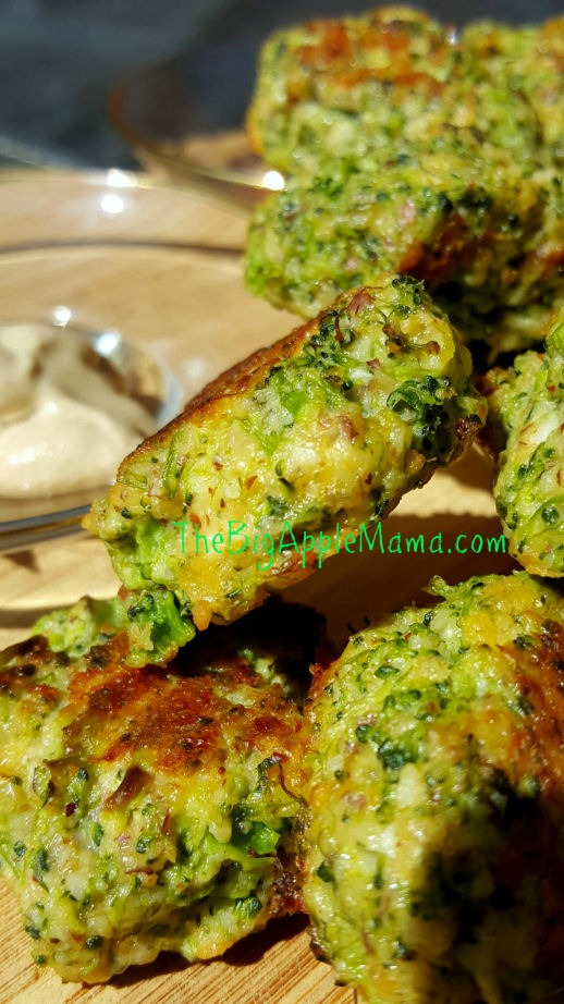 Cheesy broccoli tots, delicious low carb appetizer