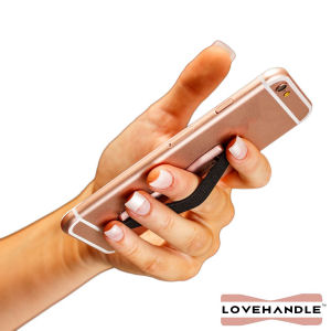 smart phone grip, love handle