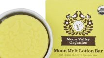 Moon valley organics moon melt lotion bar - vanilla