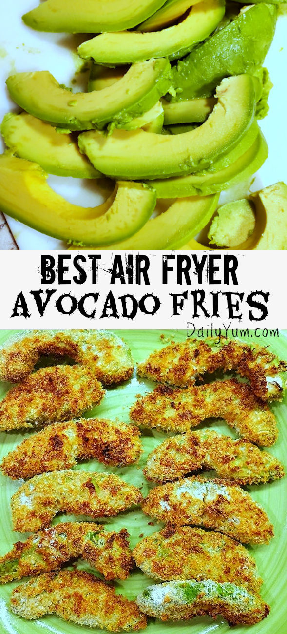 Best Air Fryer Avocado Fries