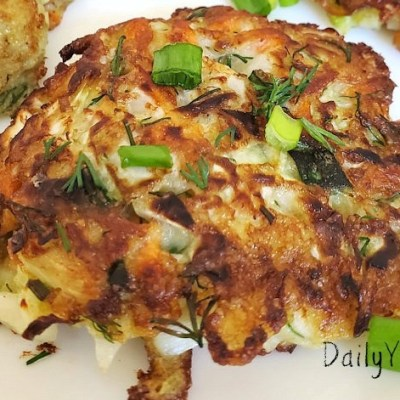 cabbage pancakes recipe, low carb and keto friendly