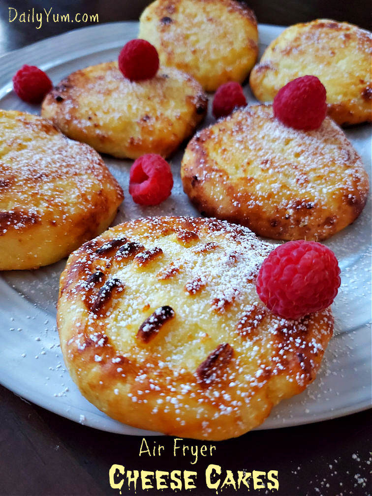 Air Fryer Cheese Cake