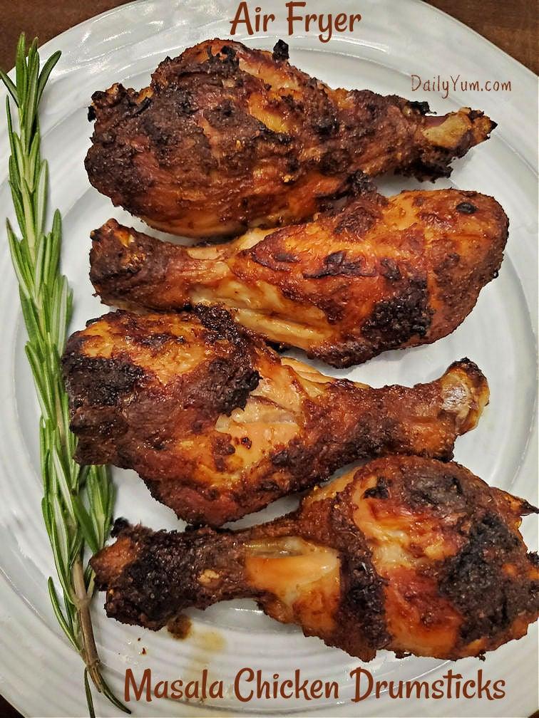 Air Fryer Masala Chicken Drumsticks