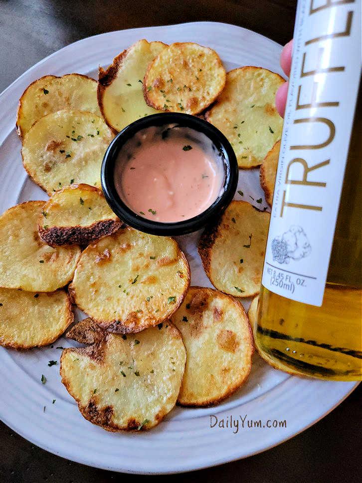 Air Fryer Truffle Potato chips, fries