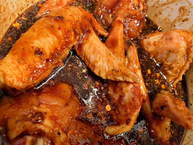 Smoky Chipotle BBQ Chicken Wings Marinade
