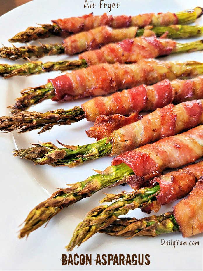 Air Fryer Bacon Asparagus