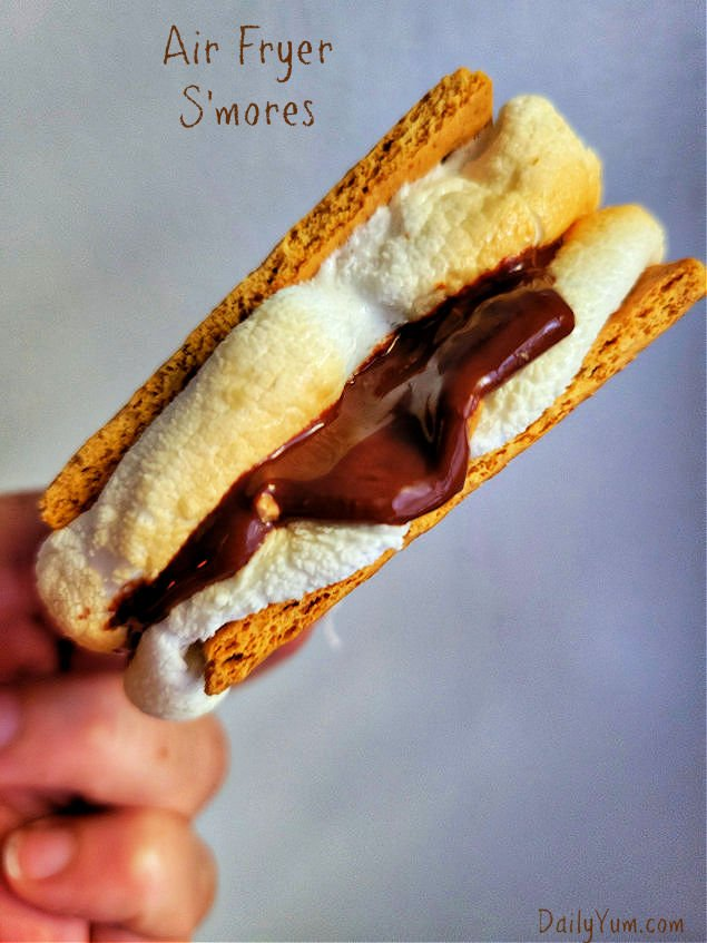Easy air fryer s'mores recipe