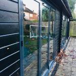 bifold doors grey