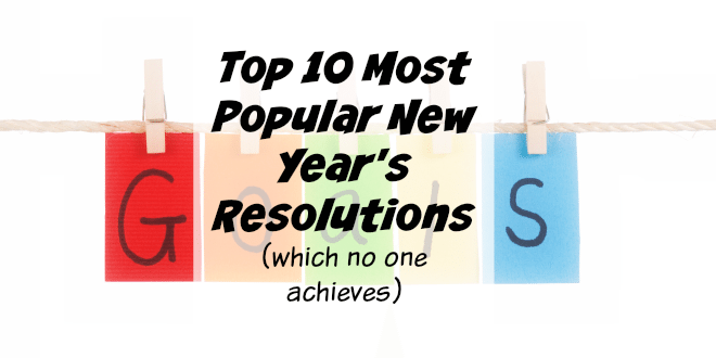 Top 10 Most Popular New Year's Resolution Fails