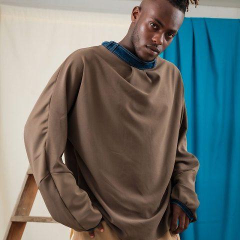 batwing jumper sustainable streetwear unisex fashion ethical oversized