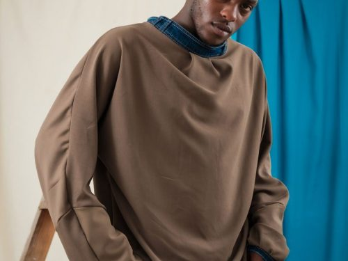 batwing jumper sustainable streetwear unisex fashion ethical oversized