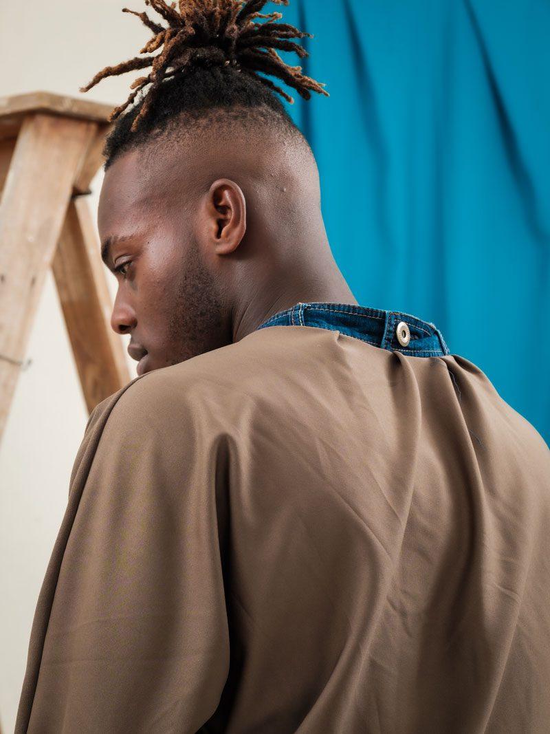 upcycled denim collar circular fashion unisex streetwear urban style uk