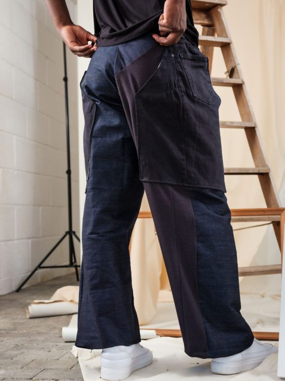Trouser Chaps Back sustainable streetwear ethical brand
