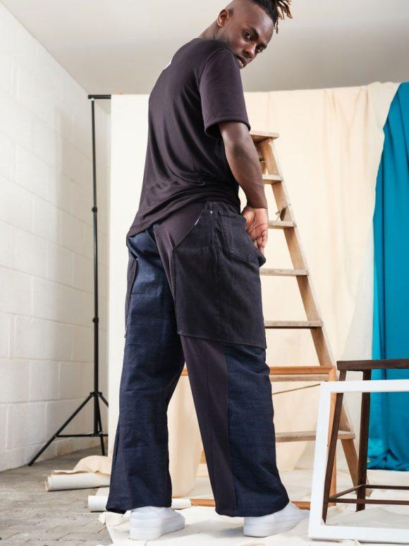 Trouser Chaps Back Sustianable Streetwear