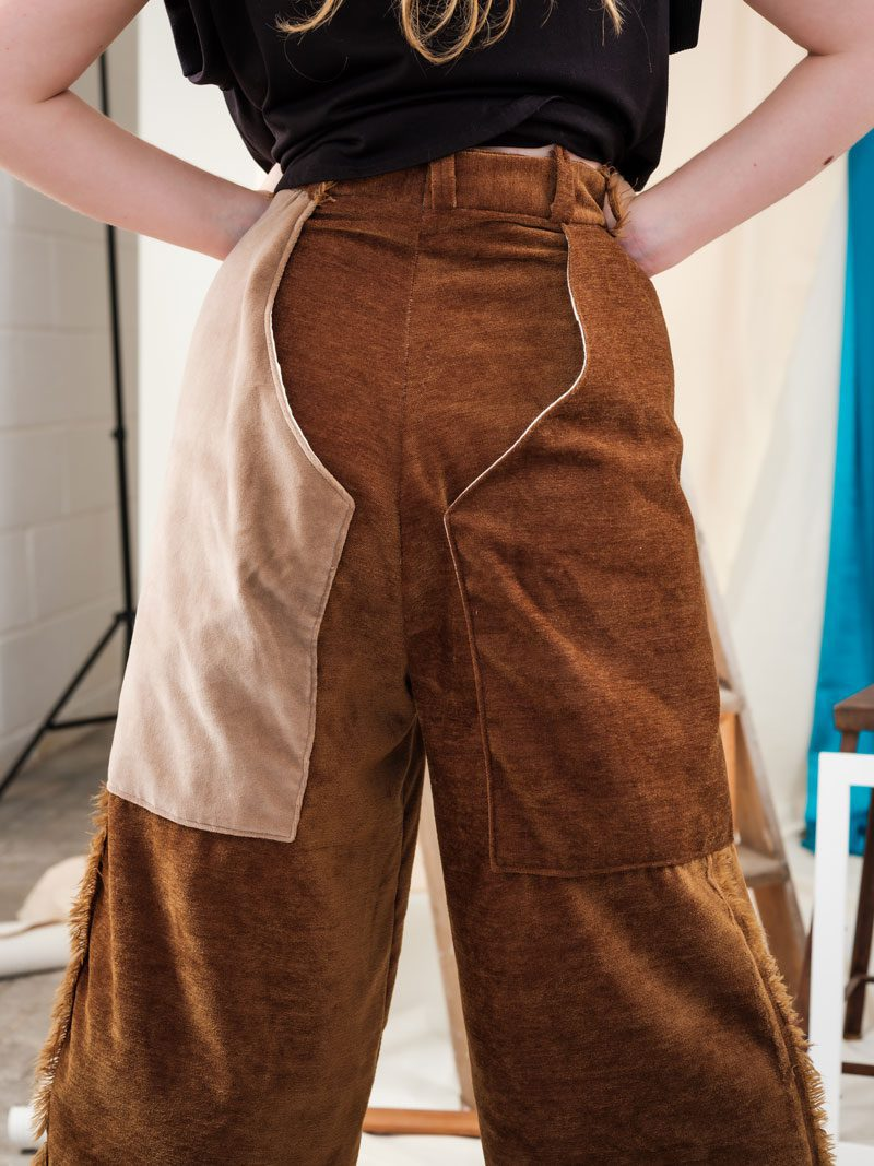 trouser chaps ethical streetwear sustainable circular fashion