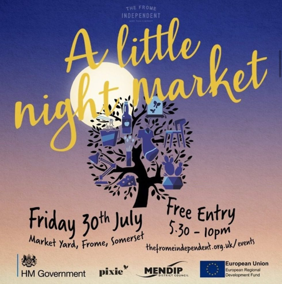Frome Independent A Litte Night Market Flyer