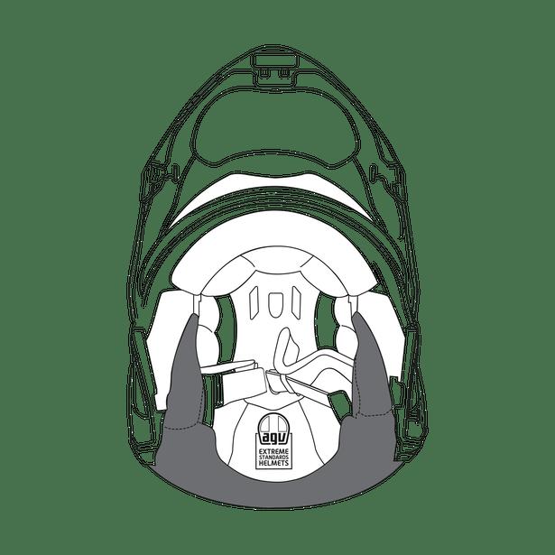 AGV CHEEK PADS SPORTMODULAR (S)