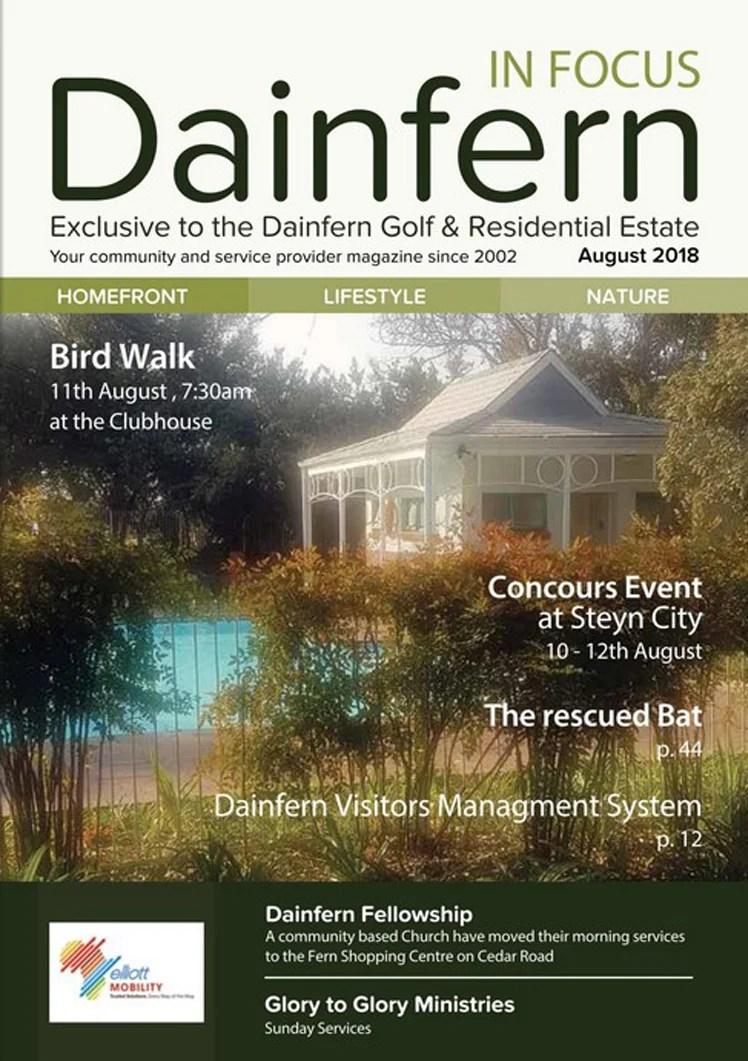 Infocus your community magazine – Dainfern Nature Association August 2018