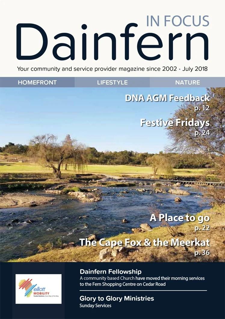 Infocus your community magazine – Dainfern Nature Association July 2018