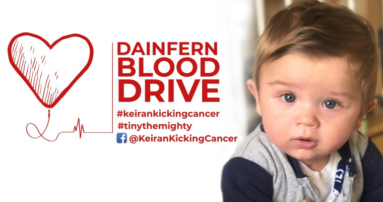 Dainfern Blood Drive: Help Keiran Kick Cancer