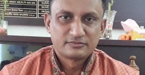 হালুয়াঘাট থানায় ওসি মোহাম্মদ আলী মাহ্ মুদ'র যোগদান