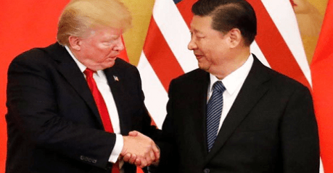 করোনা : হঠাৎ চীনের প্রশংসায় পঞ্চমুখ ট্রাম্প