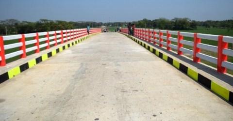 হালুয়াঘাটে ১০ কোটি টাকা ব্যয়ে নির্মিত সেতু'র উদ্বোধন