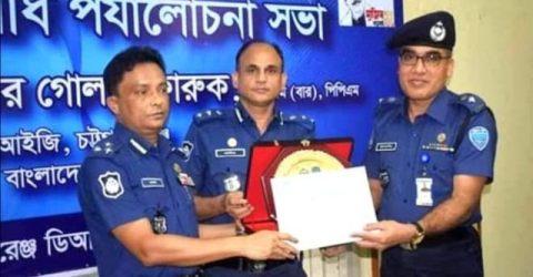 নোয়াখালীর পুলিশ সুপার চট্টগ্রাম বিভাগের শ্রেষ্ঠ পুলিশ সুপার