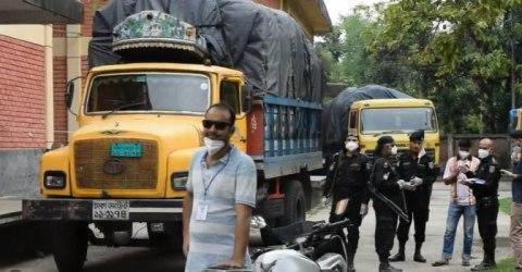 জয়পুরহাটে কাবিখার ৫০ মেট্রিক টন গম আটক