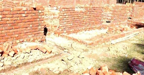 আত্রাইয়ে মুজিববর্ষে গৃহহীনদের জন্য নির্মিত হচ্ছে স্বপ্ননীড়