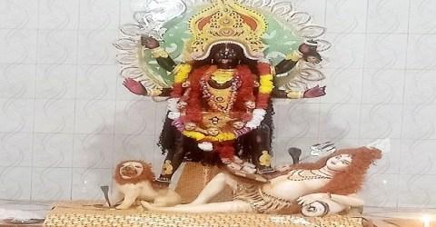 গৌরীপুর শহরে ৬০টি  শ্যামা কালী পূজার আয়োজন