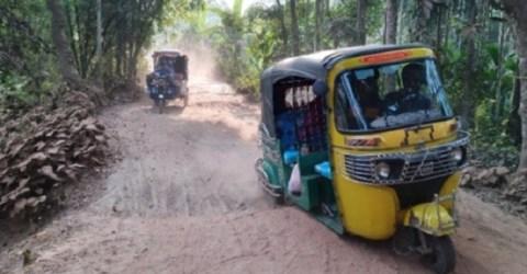 বিপর্যস্ত রায়পুর-আলোনিয়া সড়ক, চরম ভোগান্তি