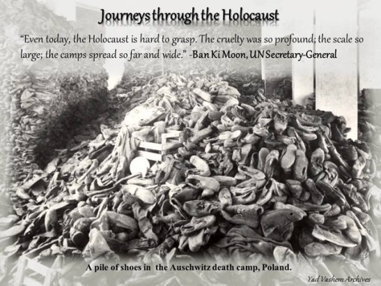 Journeys through the Holocaust