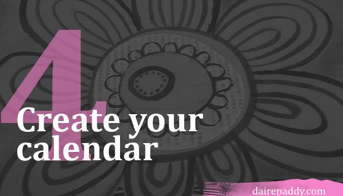 content calendar coursemap 4