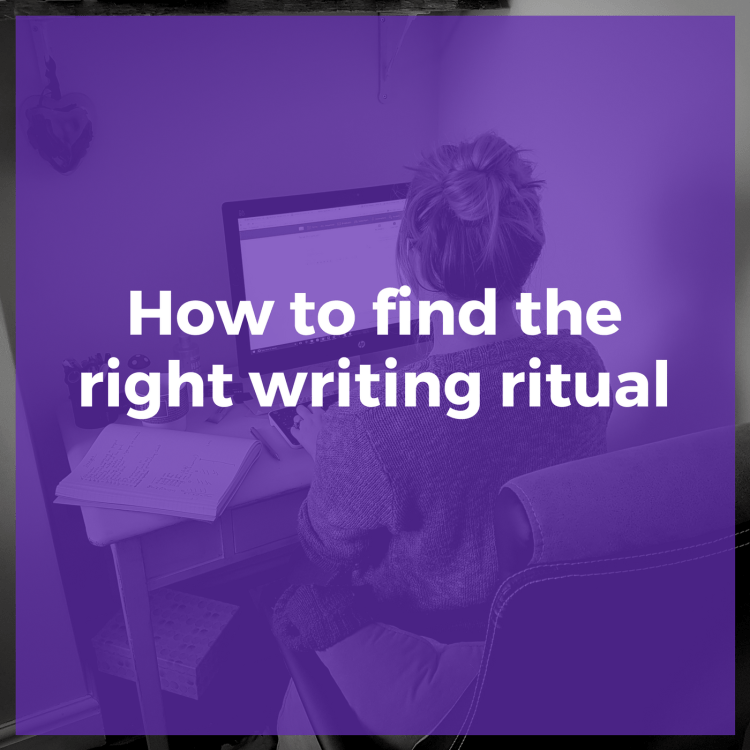 How to find the right writing ritual