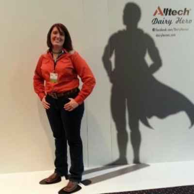 Alltech thinks that dairy farmers are heroes….