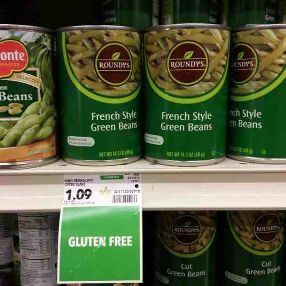 Are green beans gluten free