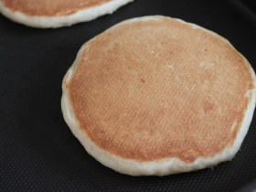 Dairy-Free, Egg-Free Whole Wheat Pancakes
