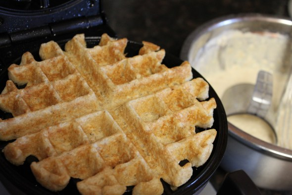 egg-free waffle