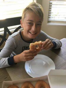 Post OIT Krispee Kreme Donut