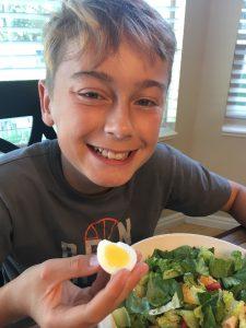 Post OIT Hard Boiled Egg