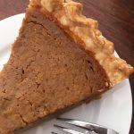 dairy free, egg free pumpkin pie