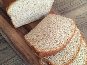 100% Whole Wheat Bread, Dairy and Egg Free