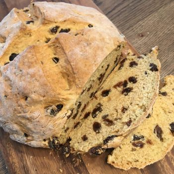 Sliced Irish Soda Bread