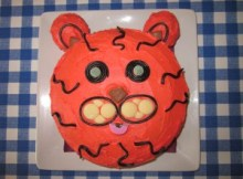 Tiger Birthday Cake
