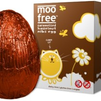 Moo Free Caramelized Hazelnut Easter Egg Image: Moo Free