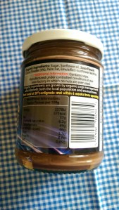Organic dairy free chocolate spread Ingredients